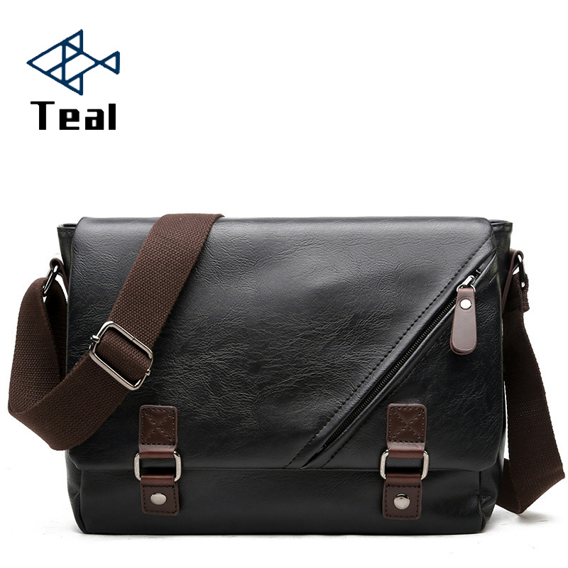 2020 New Briefcase Men's Business Crossbody Bag Leather Messenger Bag Computer Bag Laptop Men Travel Bag Briefcase