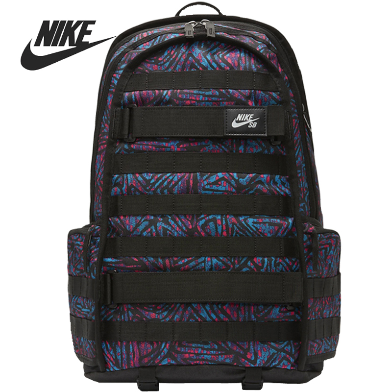 Original New Arrival  NIKE NK SB RPM BKPK-SP20 AOP Unisex  Backpacks Sports Bags