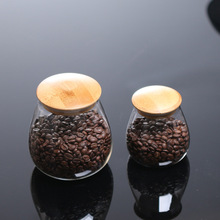 Kitchen Glass Containers for Food Mushroom Shaped Sealed Jar Grains Sealed Tanks Tea Leaf Coffee Beans Jars Food Storage Tanks wooden storage box kitchen bottles jars miscellaneous grains sealed cans food storage jars tea leaf coffee beans candy jars