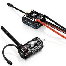 Hobbywing – XERUN AXE R2 80A ESC sans balais et moteur sans balais 540L R2 2100KV 2800KV/ 550 3300KV, combinaison étanche pour voiture RC 1/10