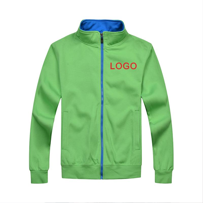 Yotee 가을, 겨울 캐주얼 고품질 스탠드 칼라 지퍼 자켓 그룹 사용자 정의 로고 사용자 정의 남성과 여성 자켓