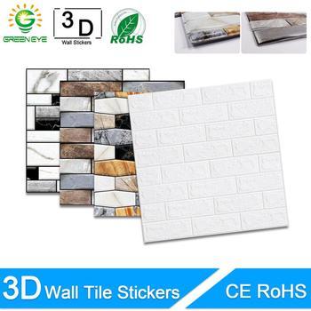 3D Wall Paper Marble Brick Peel
