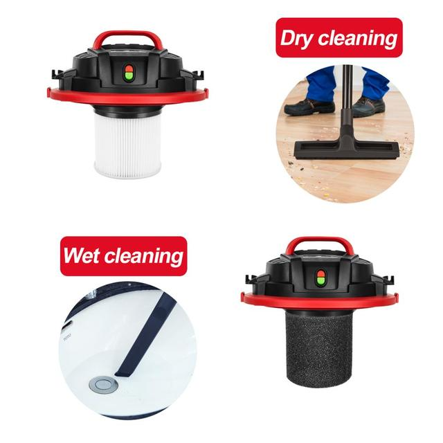 Household Vacuum Cleaner 3 in 1 Wet/Dry/Blower 16000PA Heavy-Dust Collector for Dog Hair,Garage,Car,Home&Workshop by PROSTORMER 4