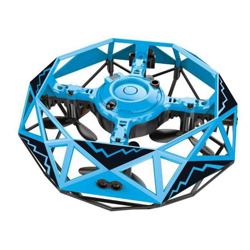 Intelligent Sensory Four-axis Suspension Flying Saucer Interaction Helicopter