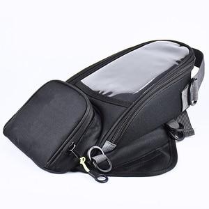 Новая мотоциклетная сумка, мобильный телефон, сумка для топлива для мотоцикла, функциональная маленькая посылка для масляного бака с фикси...