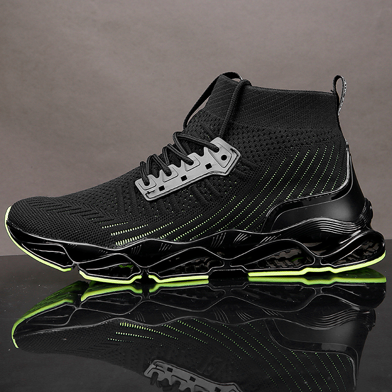 High Top Running Shoes for Men Blade Sneakers Cushioning Outdoor Sport Shoes Jogging Athletic Shoes Male Trainer Zapatillas