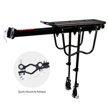Bicycle Carrier Fast-disassembled Bike Shelves Aluminum Alloy Mountain Bicycles Rear Seat Riding Accessories