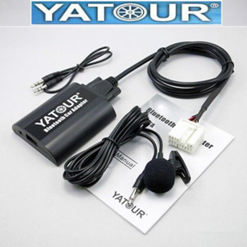 adaptador Bluetooth Manos libres Mercedes Benz Yatour USB SD AUX adaptador mp3