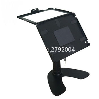 """for ipad 2/3/4/air/pro 9.7"""" table security for ipad 2018 business display mount box, fully enclosed structure bracket"""