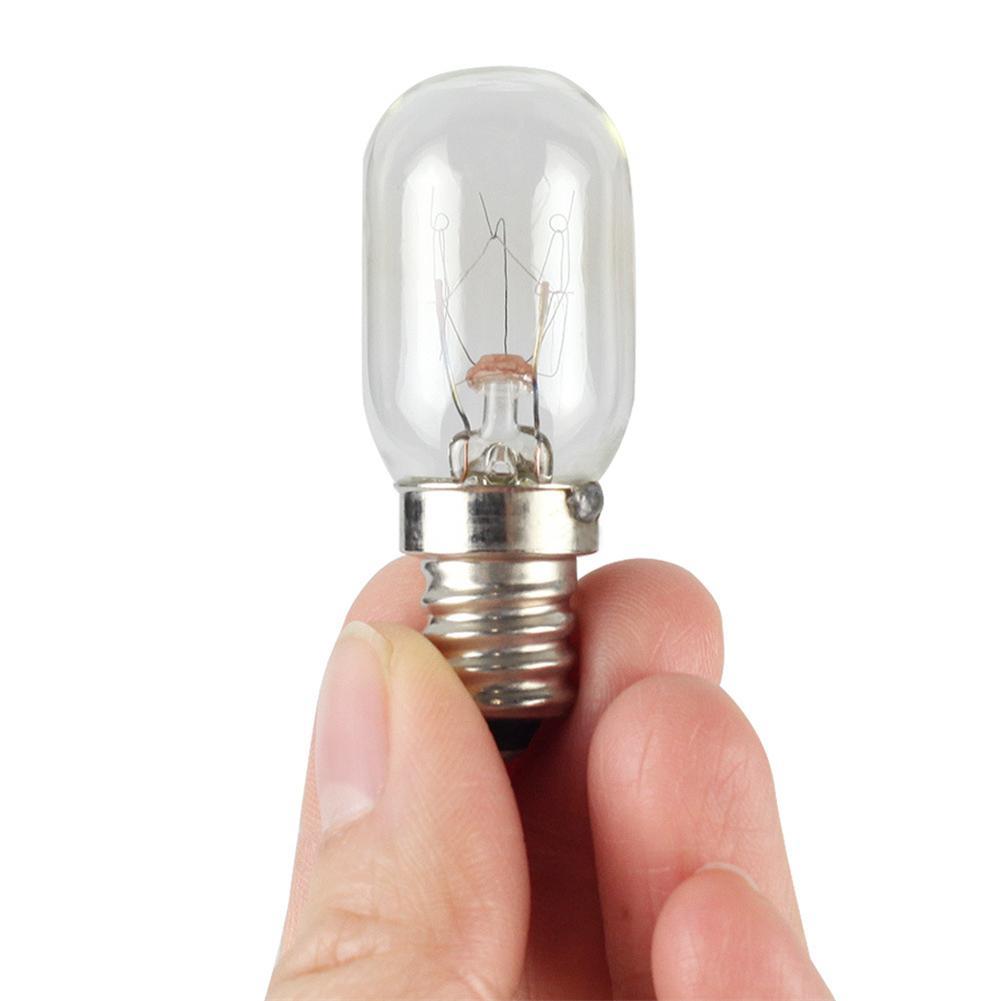 Fridge Bulb 10W E12 110V Refrigerator Hood Microwave Oven Bulb Fridge Light Bulb Tungsten Filament Bulb Lamps Warm White Ligthin