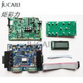 Jucaili large format printer board kit for DX5/DX7 double head board carriage board main board with 12 buttons key board