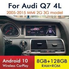 Voor Audi Q7 4L 2005 ~ 2015 Draadloze Carplay Autoradio Android Gps Navigatie Multimedia Speler Mmi 2G 3G Stereo Wifi