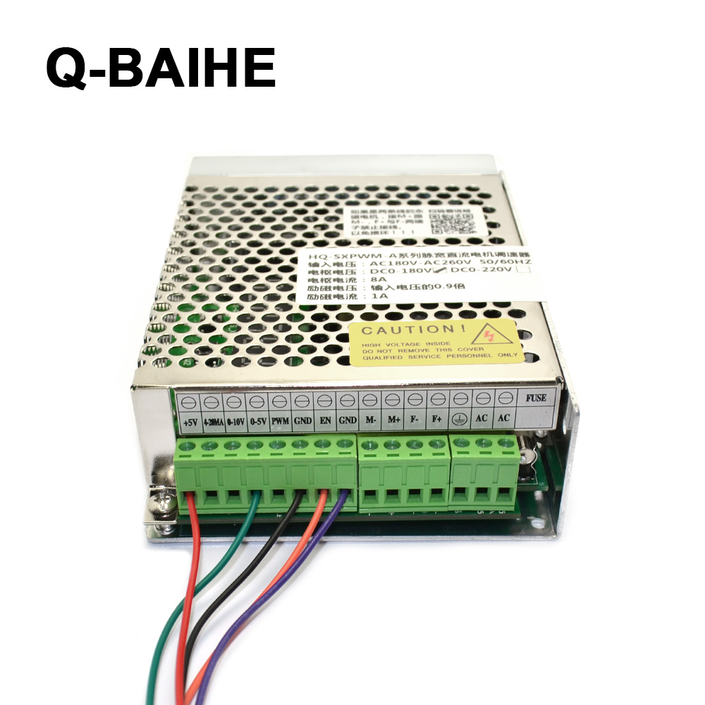 HQ-SXPWM-A High-Power Pulse AC90-260V Input 0-110VDC 90VDC 180VDC 220VDC Output 8A Motor Governor Digital Voltage And Current