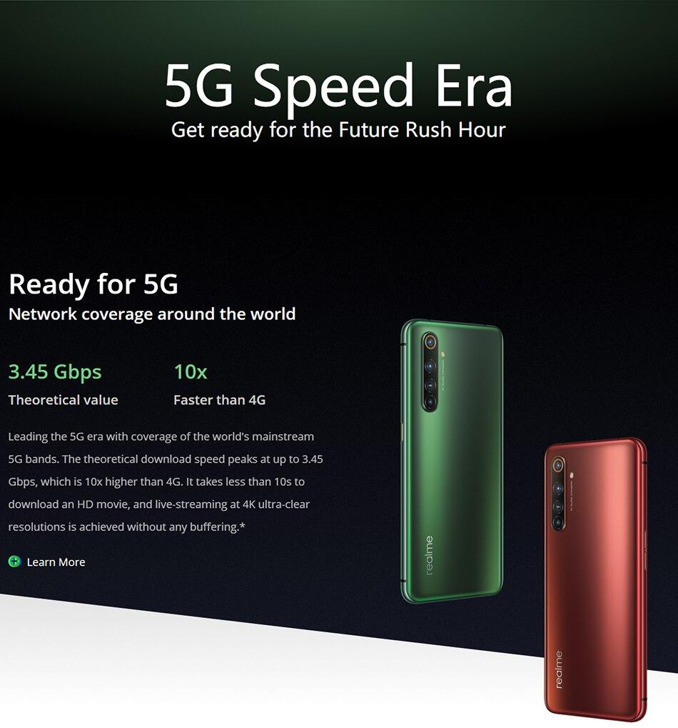 Pre-verkauf realme X50 Pro X50 5G 8GB 128GB 5,44 90Hz SuperAmoled Screen Moblie Telefon snapdragon 865 Handy 65W Superdart Ladung