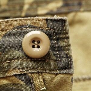 Image 5 - LIFENWENNA, осенние мужские брюки карго, камуфляжные брюки, военные брюки для мужчин, 7 цветов, мужские брюки с карманами