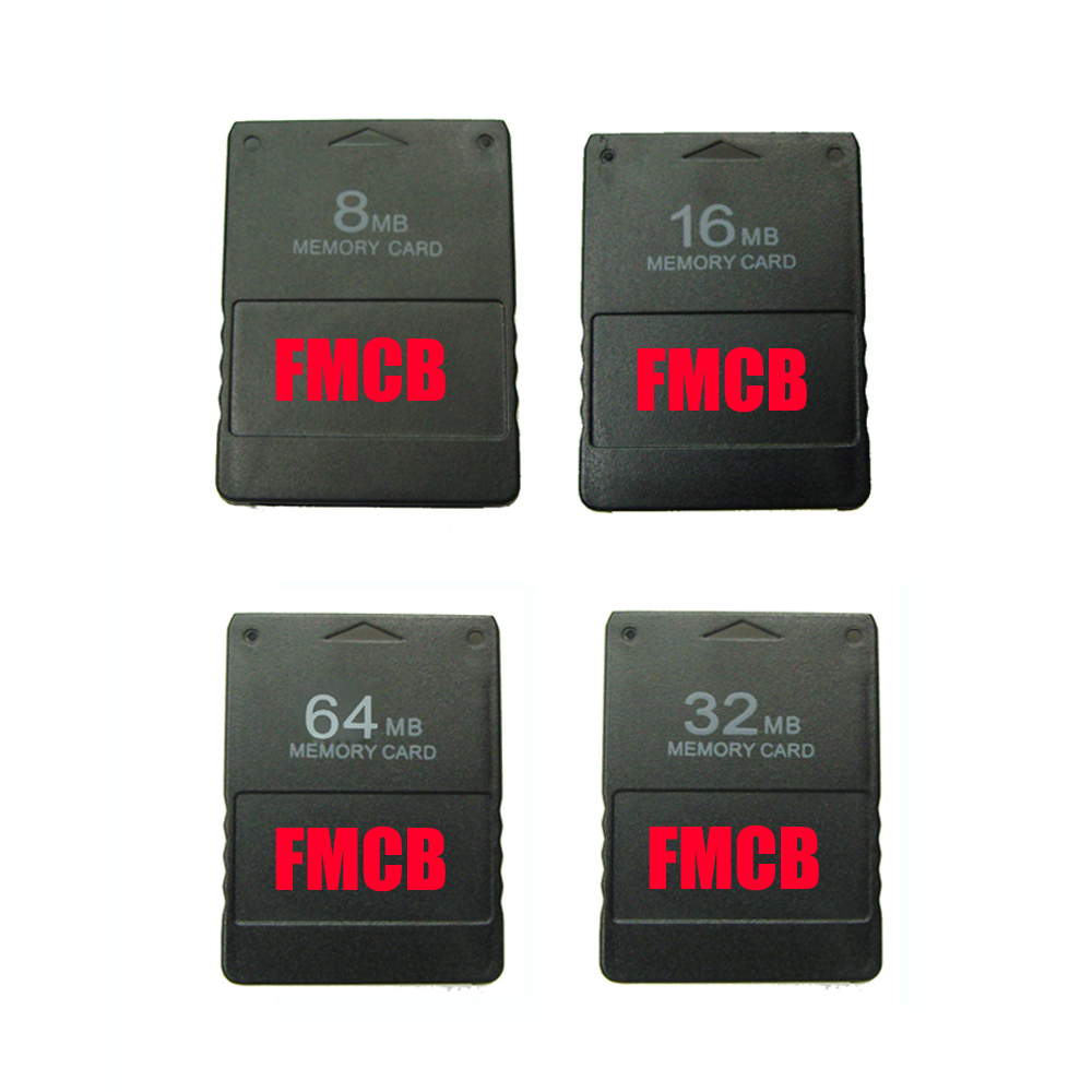 8MB 16MB 32MB  64MB Memory Card For  FMCB Free McBoot Card V1.953 For  PS2  For Playstation2