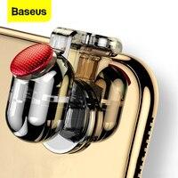 Baseus-mando para PUBG, botón disparador Aim L1 R1, mando tirador para PUBG, juego para teléfono móvil