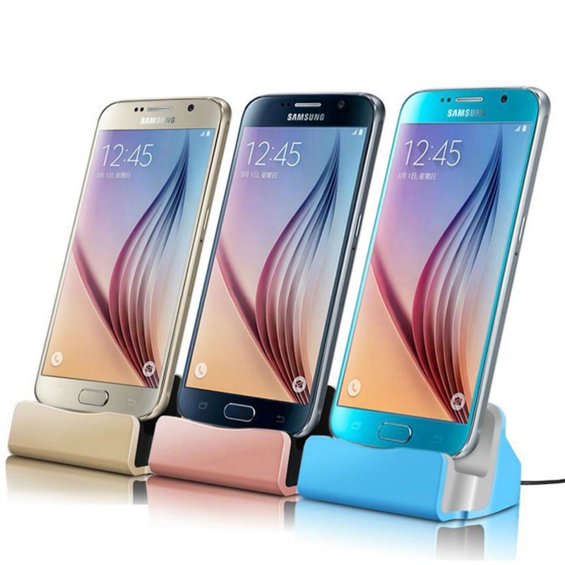 Charging Base Dock Station <font><b>charger</b></font> For <font><b>Samsung</b></font> <font><b>galaxy</b></font> J4 J6 <font><b>A8</b></font> <font><b>A8</b></font> PLUS 2018 A7 A9 J2 J3 J7 2018 S8 S9 PLUS Data Micro Usb Type C image