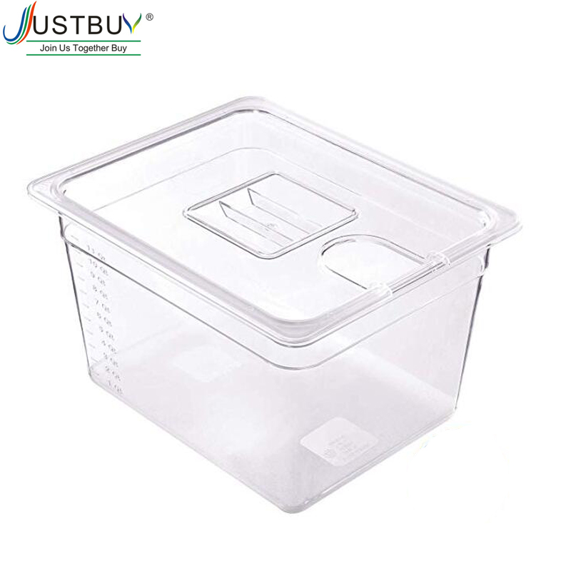 Sous Vide контейнер с крышкой для циркулятора Sous Vide кулинарная плита объемом 11Л - Цвет: 11L