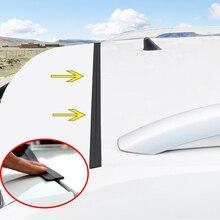 1.6M Universal Car Door Trunk Upper Edge Sealing Strip Rubber Dustproof Sticker For SUV MPV Hatchback Sedan Auto Accessories