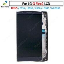 100% testé garantie pour LG G Flex 2 H955 LCD LS996 US995 H950 LCD écran tactile numériseur assemblée pour LG H955 LCD livraison gratuite