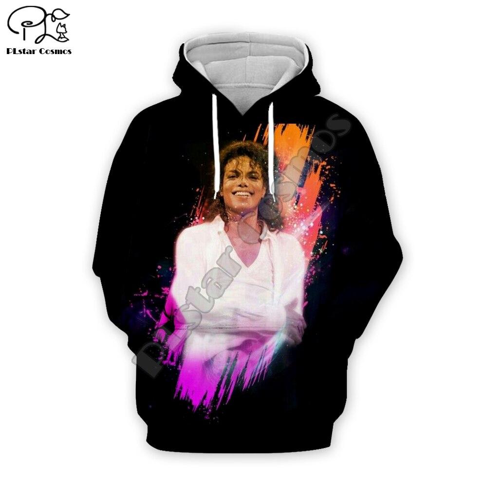 PLstar Cosmos Pop King Michael Jackson casual Streetwear Pullover colorful 3DPrint Zipper/Hoodies/Sweatshirt/Jacket/Men Women 15
