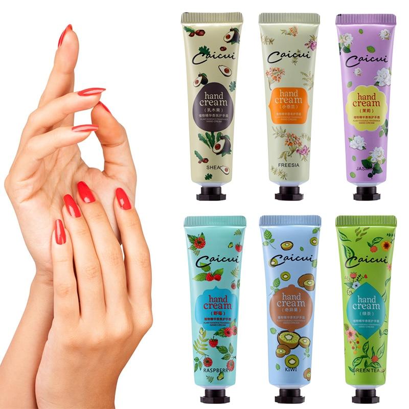 Hand Cream Mini Cute Hand Lotions Nourishing Anti-Aging Hand Feet Care Cream For Men Womem Whitening Moisturizing Winter TSLM1