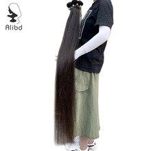 30 дюймов Необработанные длинные волосы пучки малазийские девственные волосы прямые человеческие трессы выравнивание кутикулы волосы