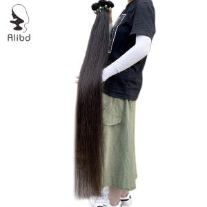 Hair-Bundles Aligned-Hair Cuticle Straight Long Double-Drawn 30inches Malaysian Unprocessed