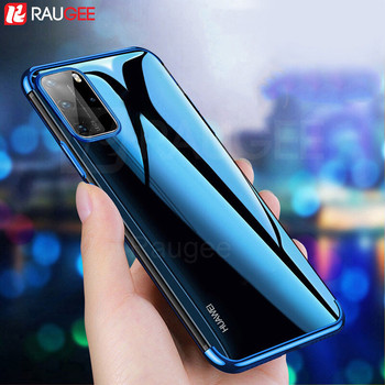 Phone Case for Huawei P40 Pro Case Shockproof Transparent Back Case Cover Luxury Silicone Case for Huawei P40 P 40 lite Pro 2020 Case
