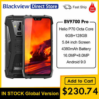 Blackview BV9700 Pro IP69 Waterproof Mobile Phone Helio P70 6GB+128GB 4380mAh Android 9.0 Night Vision Dual Camera Smartphone - DISCOUNT ITEM  12 OFF Cellphones & Telecommunications