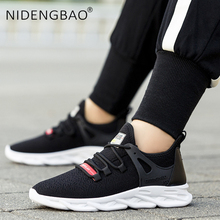Men Shoes Autumn Outdoor Sneakers Lightweight Mesh Running Shoes Jogging Walking Shoes Lace-up Training Fitness Sport Shoes цена