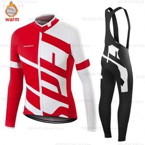 Image 2 - Nam Bộ Quần Áo Đạp Xe Jersey 2020 Pro Đội Raudax Mùa Đông Trang Đi Xe Đạp Quần Áo MTB Đi Xe Đạp Yếm Quần Lót Ropa Ciclismo ba Môn Phối Hợp