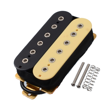 все цены на 1PCS Electric Guitar Double Coil Humbucker Pickup Bridge/Neck Passive Pickup w/ Height Adjusting Screws Multi Colors онлайн