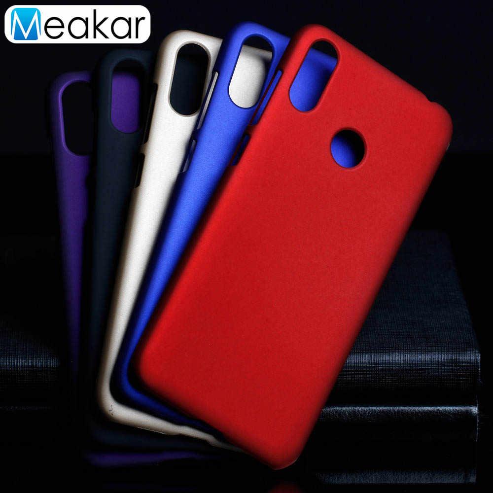 Matte Plastik Coque Cover 6.3For Asus Zenfone Max M2 ZB633KL Case untuk Asus Zenfone Max M2 ZB633KL Telepon Kembali Tritone cover Case