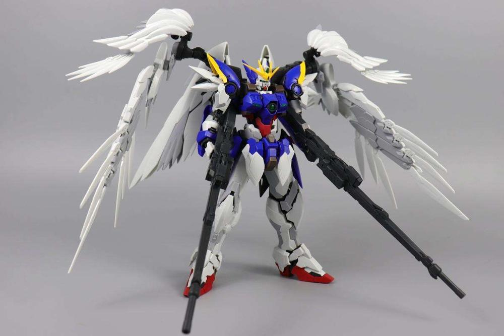 instock MJH mojianghun hirm style version wing gundam zero ew MG 1/100 action assembly figure robot toy