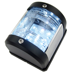 12V судовой светодиодный светильник на корме, лодочный навигационный светильник, водонепроницаемый, 135 градусов