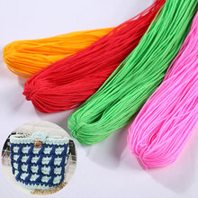 40-50M Strong Braided Macrame Silk Satin Nylon Cord Rope DIY Jewellery Bracelet Making Findings Beading Thread Wire 1mm(China)