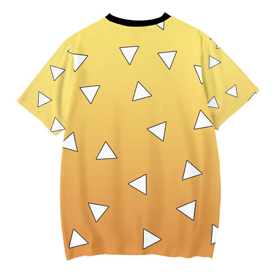 H3b1ea9232dff493b840ee6bfb10846103 Kids Boys Devils killer T-shirts 3d Print Cosplay Japanese Ghost blade Children Summer Short Sleeve Tshirts Demon Slayer Clothes