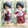 Cabbage price ob11 baby clothes dress up 10 cm OB11 doll clothes girl play house toy accessories