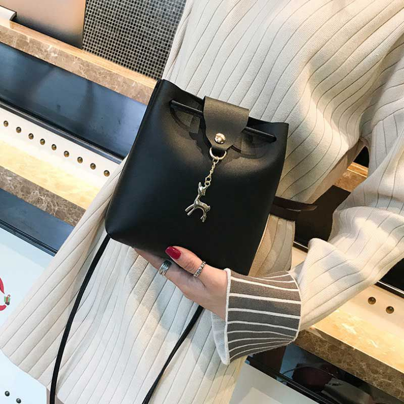 New Women Handbag Shoulder Bags Tote Purse Messenger Hobo Satchel Bag Cross Body(Black)