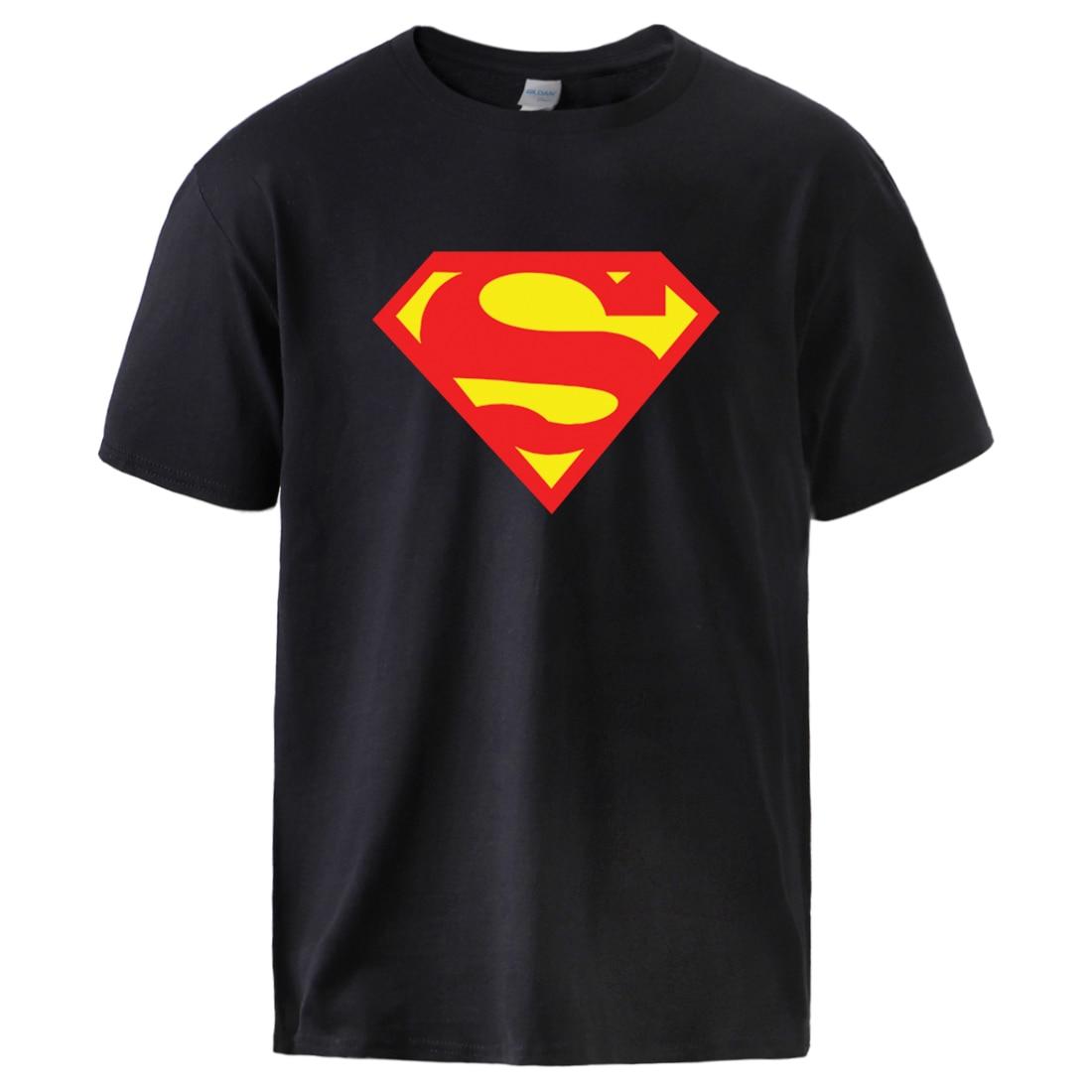 Superman Clark Kent T Shirts Mens Casual Cotton Sportswear Summer Short Sleeve Tops Man New Brand Fashion Streetwear T Shirts