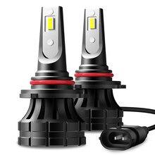 AUXITO Led H4 H7 H8 H9 H11 20000LM 55W 6000K faros LED para automóvil blanco niebla lámparas 9005 HB3 9006 HB4 bombillas de luz antiniebla