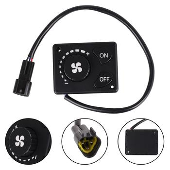 12V/24V Parking Heater Controller Knob Switch For Car Truck Air Diesel Heater Controller Switch Practical Car Supplies 12v 24v lcd monitor switch remote controller accessories for car track diesels air heater parking heater car accessories
