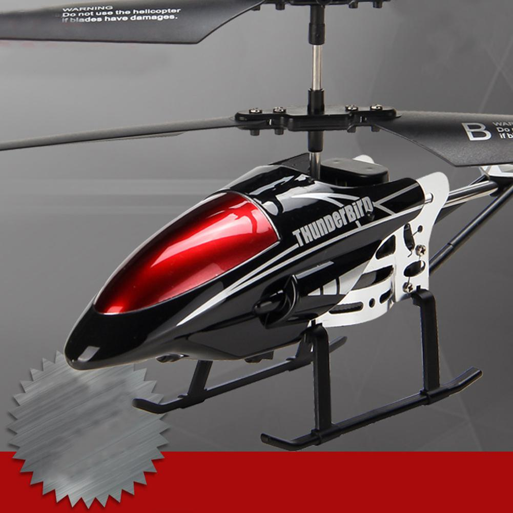 None Alloy 3.5 Channels RC Helicopter Fall Resistant Electronic Charging Plane Model Toys For Kids