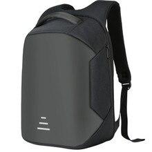 Стиль USB Анти-кражи сумка для ноутбука 15 дюймов Повседневное Рюкзак-сумка через плечо Для мужчин's и Для женщин модный рюкзак для женщин