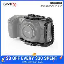SmallRig-نصف قفص BMPCC 4K و 6K ، أسود ، تصميم Blackmagic ، كاميرا سينما الجيب ، 4K و 6K ، 2254B