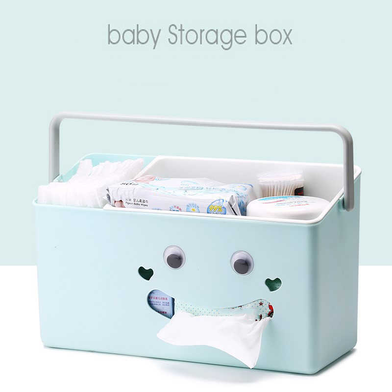 Baby child care products bottle diaper storage box multi-function travel portable Store sachet Mother daily Outing necessities