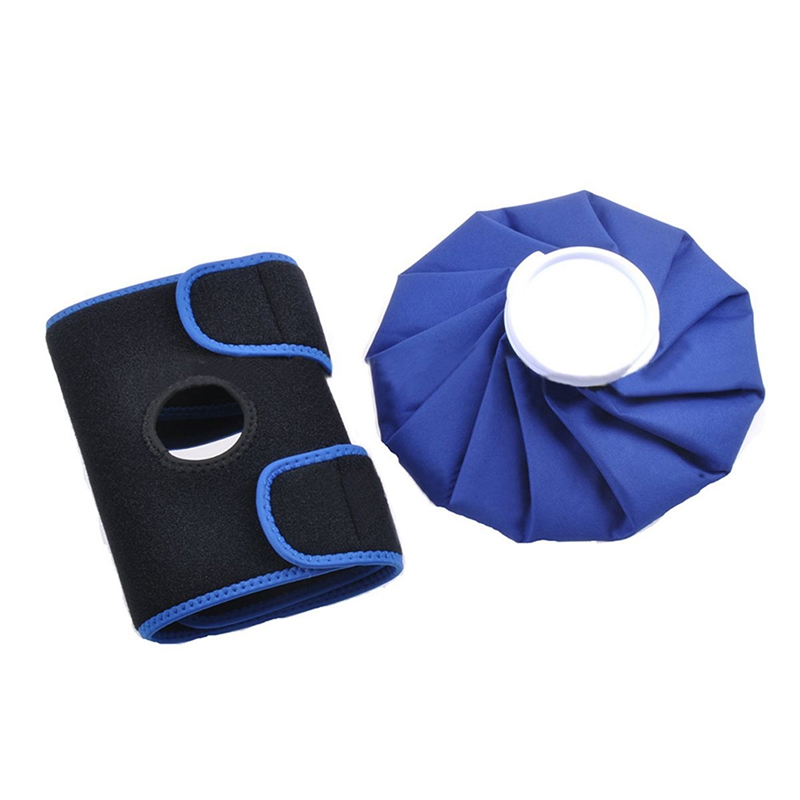 Ice Bag Knee Strap Cloth, Ice Pack Hot Cold Wrap Shoulder Injuries Sprains Muscle Joint Pain Shoulder Ankle Braces