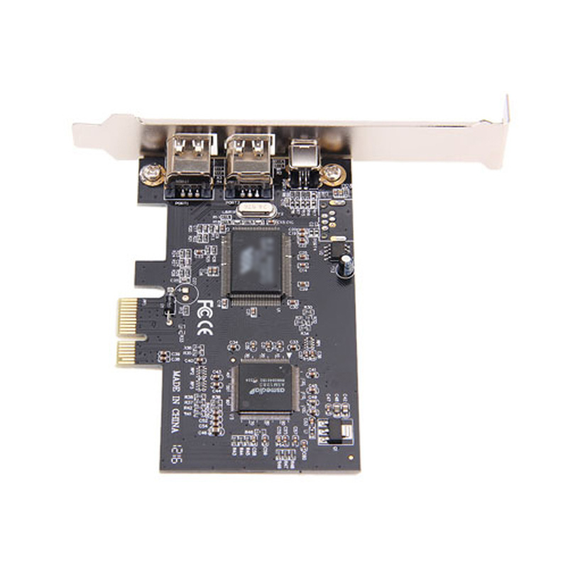 <font><b>PCI</b></font> E To <font><b>IEEE</b></font> <font><b>1394</b></font> Adapter 3 Ports <font><b>PCI</b></font> Express Expansion Card for Desktop PC image